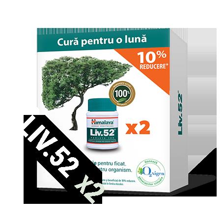 Pachet promoțional Liv52